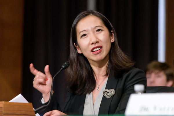 Dr. Leana Wen testifies on opioid abuse before the U.S. Senate Committee on Health, Education, Labor and Pensions in December 2015.