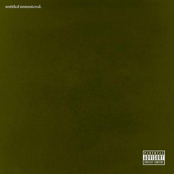 The cover of Kendrick Lamar's <em>untitled unmastered. </em>project.