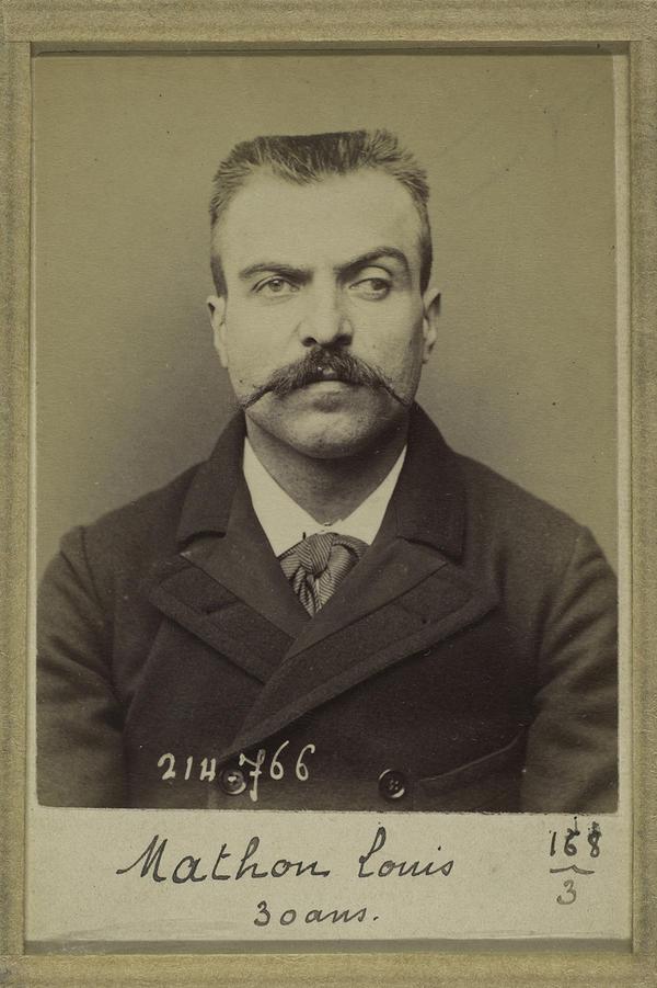 Louis Marius Mathon, 30 (1894)