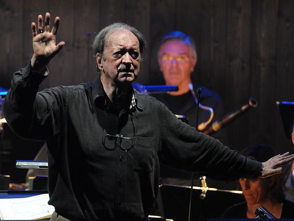 The late conductor Nikolaus Harnoncourt, rehearsing in Salzburg, Austria in 2012.