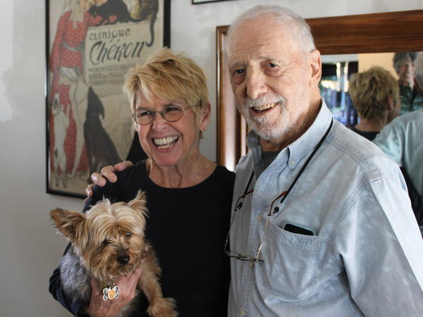 Madeline Smith and Tony Lawrence met and married on the Motion Picture and Television Fund campus.
