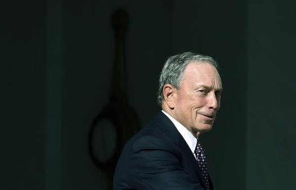Former New York City Mayor Michael Bloomberg leaves a meeting with French president Francois Hollande in Paris last June.