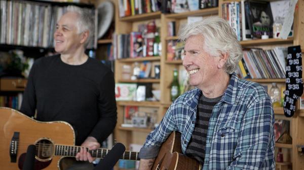 Tiny Desk Concert with Graham Nash.