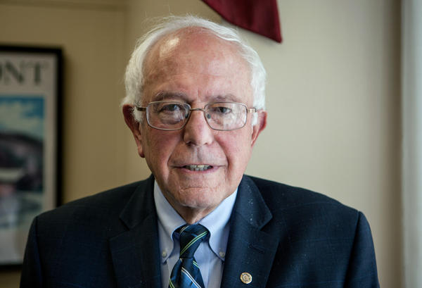 "Bernie Sanders, pictured on Capitol Hill last June, has a steep hill to climb to win enough delegates in the presidential primary. But, he told NPR on Wednesday, ""I am used to climbing steep hills."""