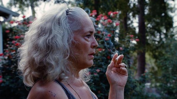 Krisha Fairchild in the feature-length adaptation of the 2014 short film <em>Krisha</em>.