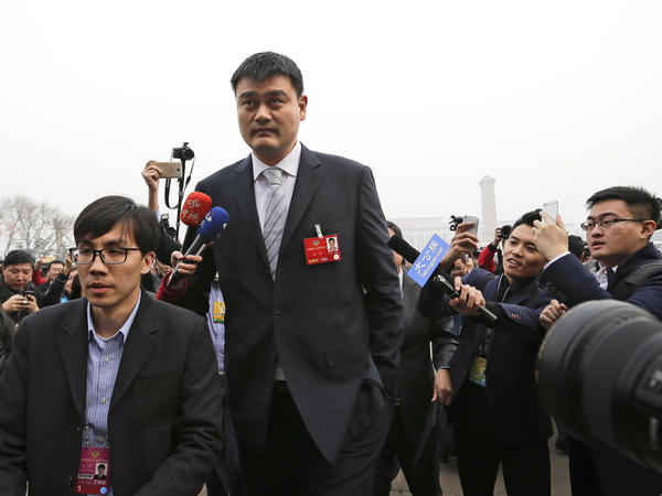 Former Houston Rockets basketball player Yao Ming arrived at China's Great Hall of the People to attend the opening session of the Chinese People's Political Consultative Conference in Beijing on March 3. Many prominent Chinese figures take part, though delegates lack real power.