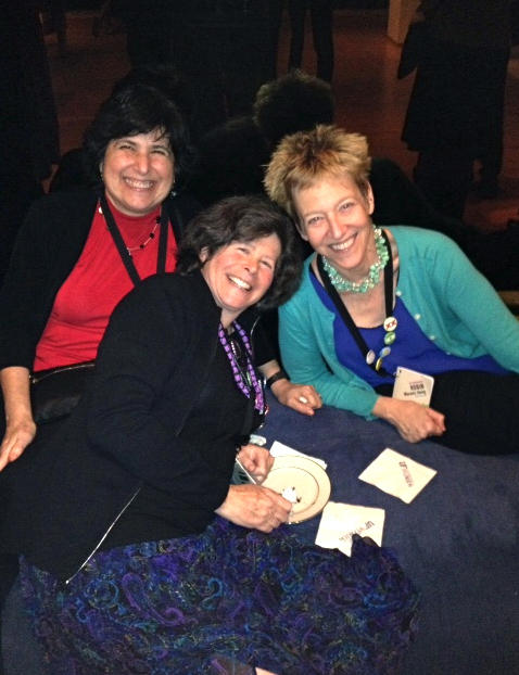 Peggy Girshman (left), Joanne Silberner and Robin Marantz Henig at a 2013 meeting of the National Association of Science Writers.