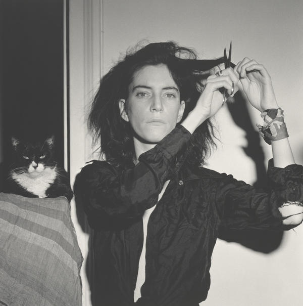 "Patti Smith met Robert Mapplethorpe just after she moved to New York in the late 1960s. He made this portrait of her in 1978. <a href=""http://www.npr.org/templates/story/story.php?storyId=122722618"">Click here to listen to Smith talk about their 22-year friendship and creative partnership</a>."