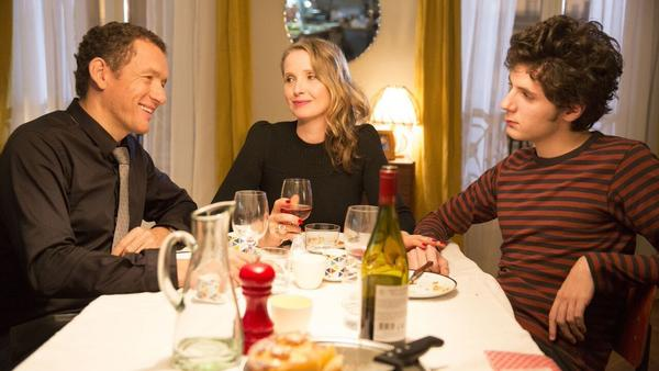 Dany Boon, Julie Delpy and Vincent Lacoste in <em>Lolo</em>.