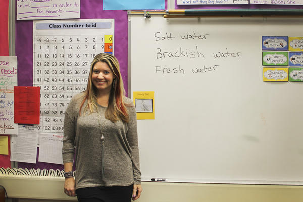Third-grade teacher Tara Hunt gets up around 4 a.m. to make her two-hour commute from the coastal village of Capitola to Walter Hays Elementary School in Palo Alto, Calif., in the heart of Silicon Valley.
