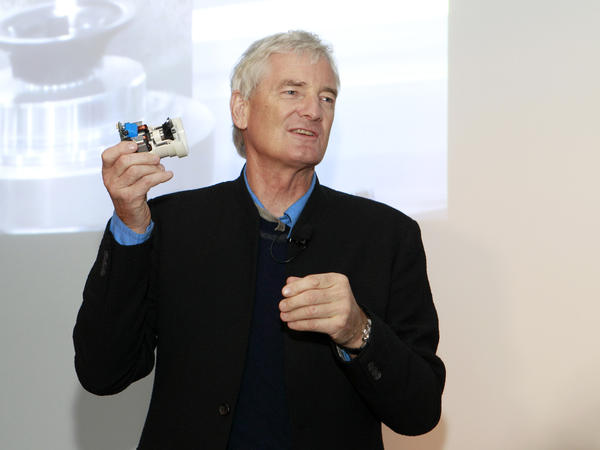 Founder James Dyson Speaks At A Launch Event In 2017 For The Airblade