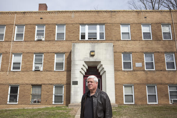 Art Nalls owns the Mount Dome Apartments in Southeast Washington, D.C. Nalls says he tries to provide good, decent, affordable housing but needs people to pay their rent to do that.