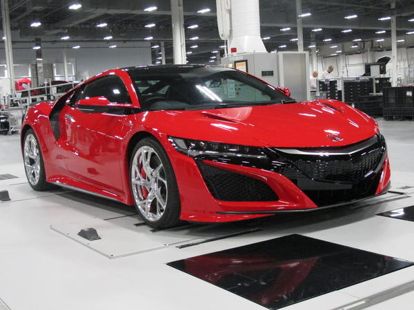"Honda's goal with the new NSX is to build a ""halo"" car — one that shines so brightly it creates a glow around all Acura models. It can go from zero to 60 mph in three seconds."