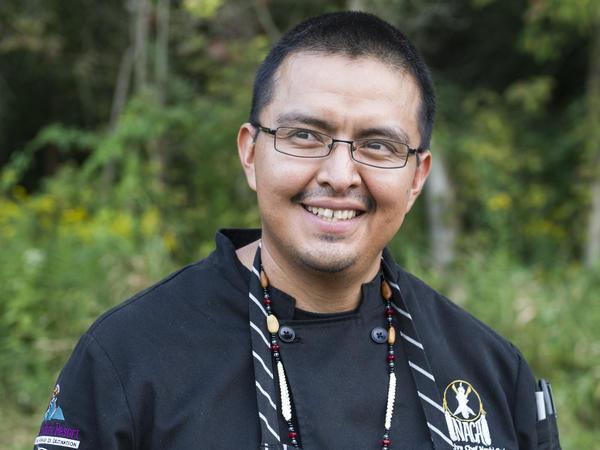 Nephi Craig, executive chef of The Summit Restaurant at Sunrise Park Resort in Whiteriver, Arizona.