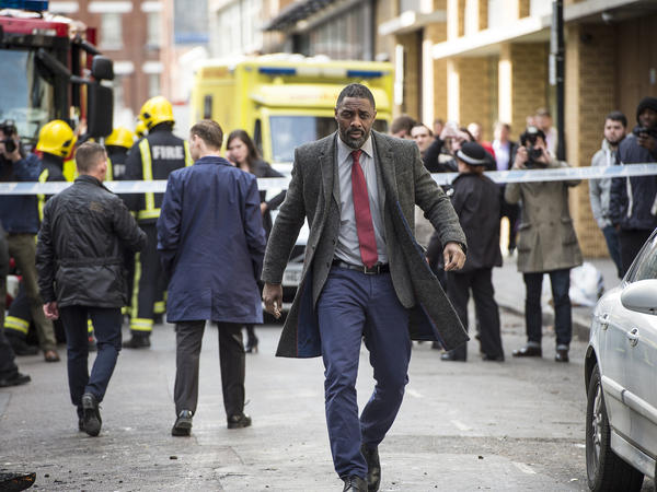 """Idris Elba plays John Luther in the BBC America television series <em>Luther. </em>Elba is frequently mentioned as the best current example of """"badass"""" black actors."""