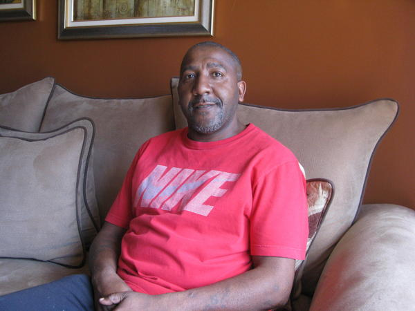 Melvin Lofton, who lives with his mother, says landlords have turned him away in the past because of his record.