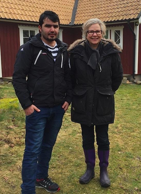 Dagmar Nordberg, a Swedish museum director, met Waliullah Hafiz, an asylum-seeker from Kabul, on a train platform last November. He'd fled Afghanistan after refusing to transport bottle bombs for the Taliban.