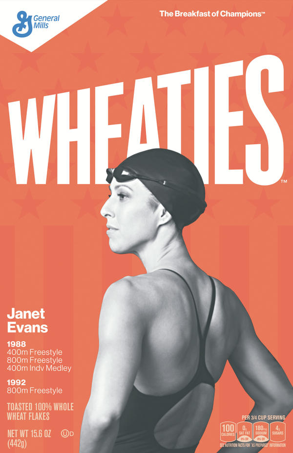Janet Evans is one of the greatest women's distance swimmers in U.S. history..