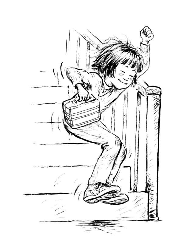 """Ramona Quimby was a supporting character in Cleary's first book, <em>Henry Huggins</em>. """"Ramona just appeared on her own and kept growing in each book,"""" Cleary says."""