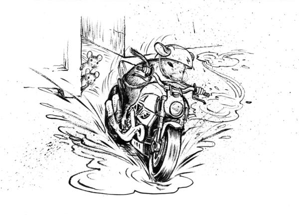 """Cleary says she wrote <em>The Mouse and the Motorcycle </em>for her son. """"He was in about the third grade and was disillusioned with school and reading and I said, 'Well, what would you like to read about?' And he said: 'Motorcycles.'"""""""
