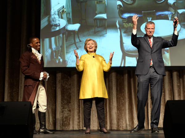 New York City Mayor Bill de Blasio tries his hand at some racial humor at the 94th annual Inner Circle Dinner in New York.