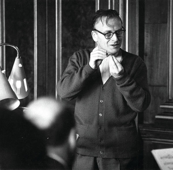 Later in his career, as he developed issues with his bowing, Menuhin turned to conducting. He was appointed head of the Royal Philharmonic Orchestra in 1982.