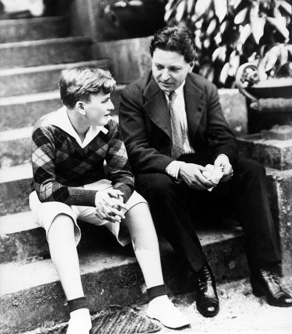 In the summer of 1927, Menuhin began studying with famed Romanian composer and violinist Georges Enescu.