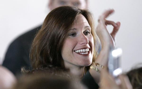 Melissa Hart, seen in 2006, is a former Pennsylvania Congresswoman and a Kasich supporter.