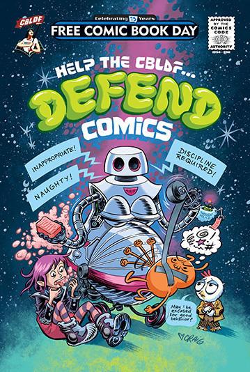 <em>Help the CBLDF ... DEFEND COMICS</em>