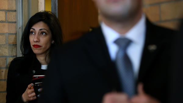 Federal investigators have interviewed Huma Abedin and other top Hillary Clinton aides as part of an ongoing investigation into the candidate's use of a private email server as secretary of state.
