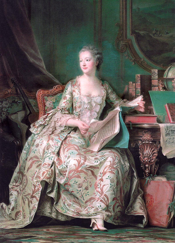 Jeanne Antoinette Poisson, Marquise de Pompadour, may be best known as King Louis XV's Chief Mistress. But she was also a highly educated tastemaker, a patron of the arts, and an artist in her own right.