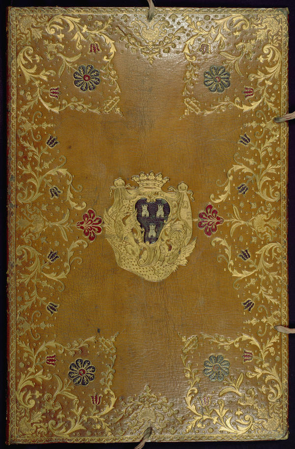 Columbia University art historian Susan Wager found this yellow, leather portfolio among a batch of items purchased by museum founder Henry Walters in 1895. Inside were etchings by Madame de Pompadour.