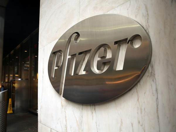 Pfizer's corporate headquarters in midtown Manhattan.