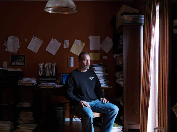 Doug Quinn has been living in a rented home in Toms River, N.J., while he still pays his mortgage and flood insurance on his house that was destroyed by Superstorm Sandy.