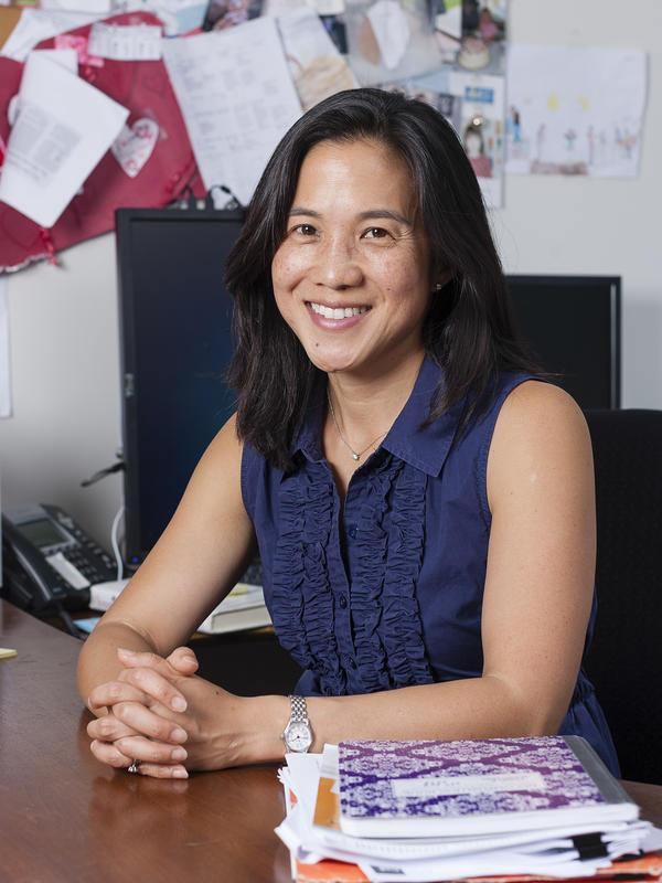 Angela Duckworth, professor at the University of Pennsylvania.