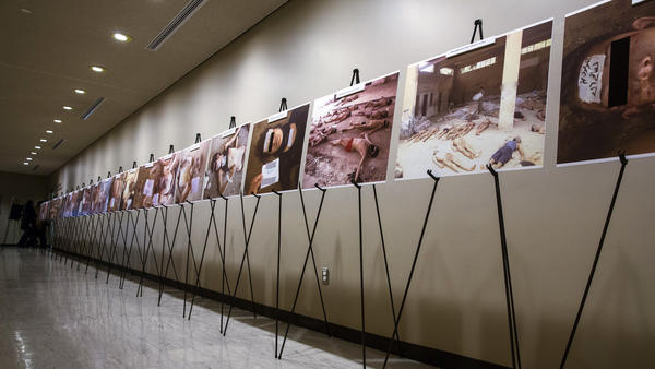 Images of dead bodies in Syrian prisons, taken by a Syrian forensic photographer, were displayed at the United Nations last year. They were also put on exhibit at the U.S. Capitol last July. A range of activists and groups are trying to find better ways to document torture and prosecute those responsible.