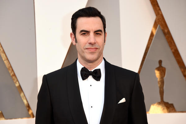 Actor Sacha Baron Cohen attends the Academy Awards on Feb. 28. Cohen will play Mandrake the Magician an upcoming film.
