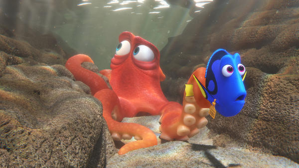 Dory and friends go in search of <em>her </em>family in the new film <em>Finding Dory.</em>