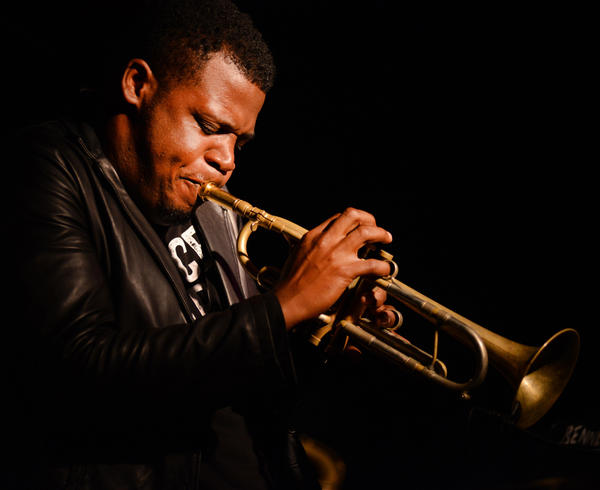 "Keyon Harrold performs at this year's Melbourne International Jazz Festival. He's the co-founder of ""Compositions For A Cause."""