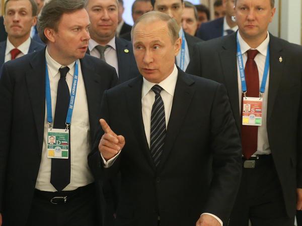 "Russian President Vladimir Putin said from the Shanghai Cooperation Organization summit in Tashkent, Uzbekistan, that Britain's decision to exit the European Union was ""comprehensible."""