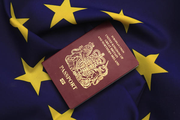 New passports omitting the EU designation at the top will have to be issued for U.K. passport holders.