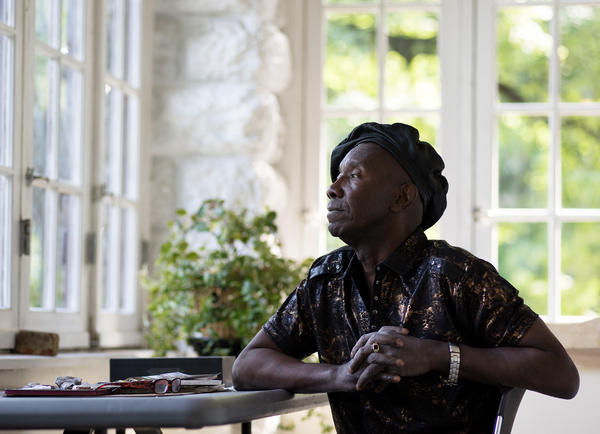 William Kitt has lived in a studio apartment in New York owned by the nonprofit Broadway Housing Communities for 13 years, after decades of living on the streets.