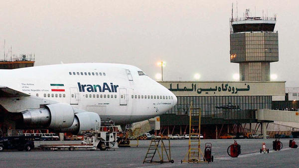 An Iran Air Boeing 747 is parked at Mehrabad International Airport in Tehran in this 2003 photo. Boeing has agreed to lease or sell about 100 aircraft to Iran, but there are still potential obstacles.