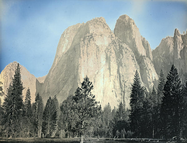 Binh Danh melds early photographic materials and timeless landscapes to produce ethereal images of national parks. He made this daguerreotype of Cathedral Rocks and Cathedral Spires in June 2012.