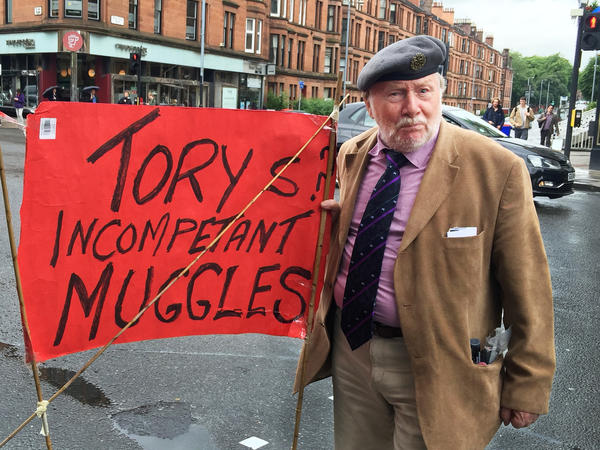 Harry McEachan, a former baker and auto factory worker in Glasgow, is furious with the Conservative (also known as Tory) Party for engineering a successful Brexit vote. McEachan plans to vote for Scottish independence if there is a second referendum.