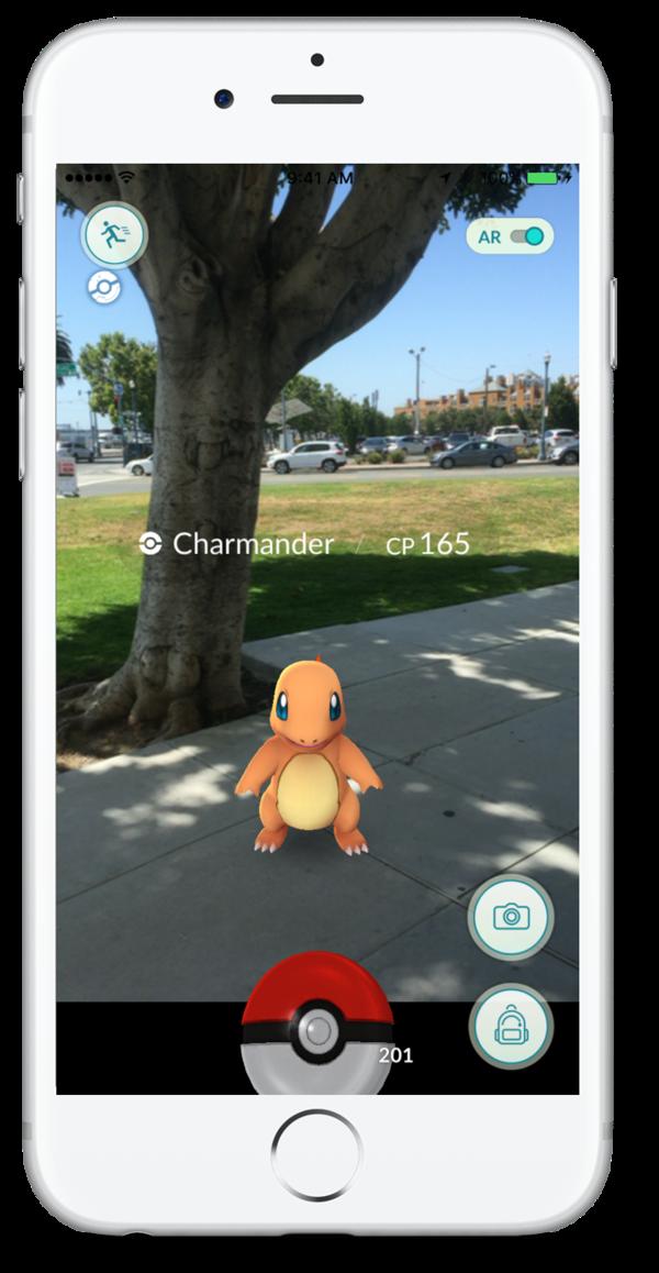 A screenshot from <em>Pokemon GO</em>.