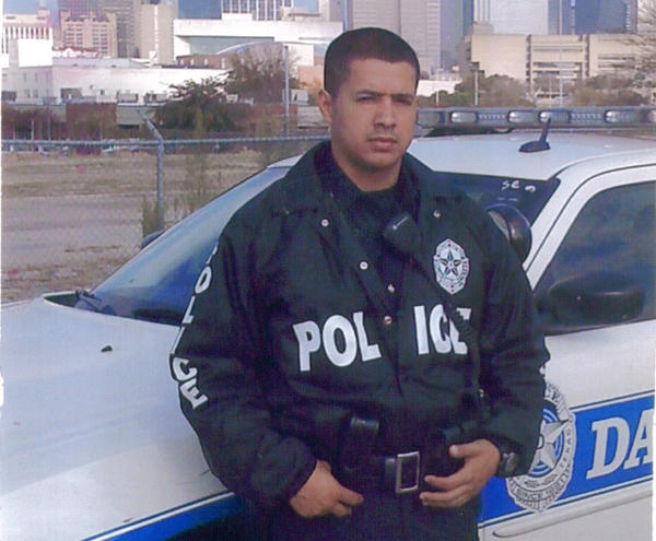 Patrick Zamarripa, of the Dallas Police Department, was one of the five officers killed in a shooting in Dallas.