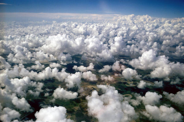 About 70 percent of Earth is covered by clouds at any given moment. Their interaction with climate isn't easy to study, scientists say; these shape-shifters move quickly.