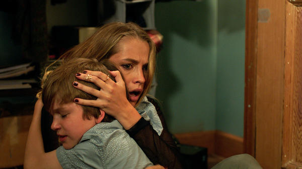 Gabriel Bateman and Teresa Palmer star in the big-screen adaptation of <em>Lights Out, </em>a film that began as a low-budget short, uploaded to YouTube.