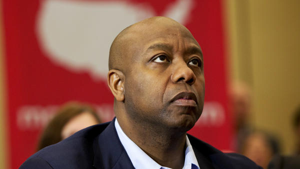 Sen. Tim Scott earlier this year.